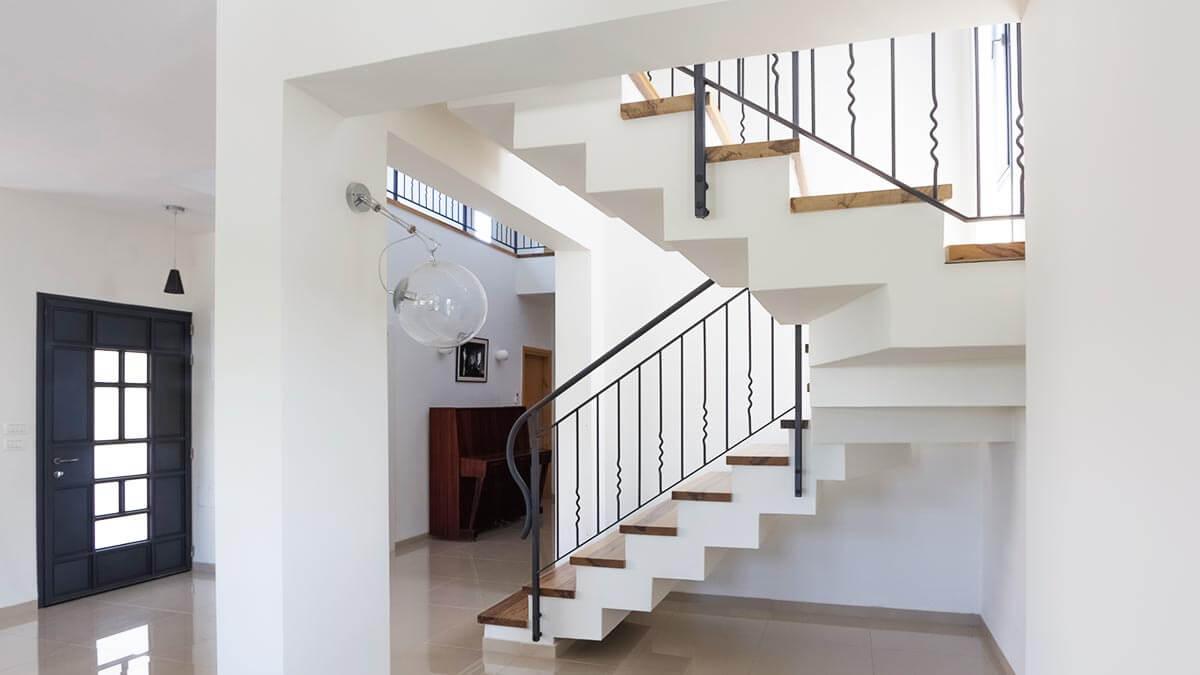 תכנון מדרגות בעמק יזרעאל